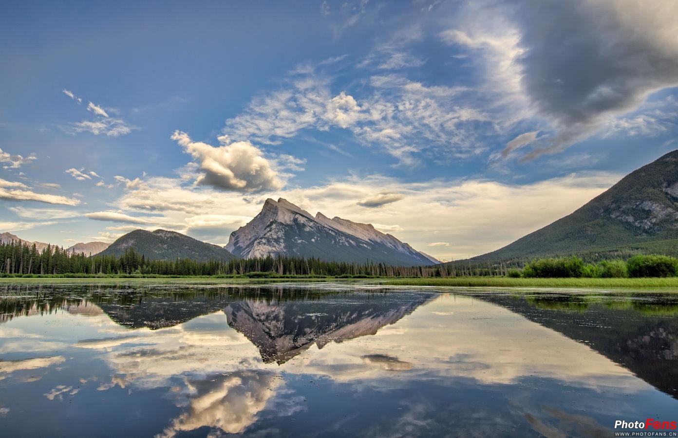倒映唯美风景 湖面倒影拍摄技巧